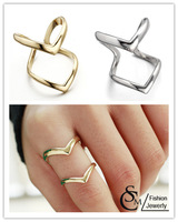 new arrive high quality  double finger  Rings For Women,Mix $10 Free shipping