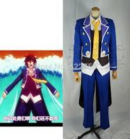 Free shipping custom made Anime No Game No Life Sora uniform Cosplay Costume