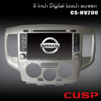 CS-NV200 8 inch Specail Car PC  with touch screen ,car radio,audio,Bluetooth3g,wifi(optional)SD FOR Nissan Evalia 2009-2012