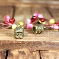 144 cap for tassel design diy necklace bracelet component  20pcs/lot 13*9MM pendants alloy  lucky Charms  Jewelry Findings