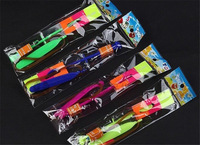 2014 Newest Hot sale LED Amazing flying arrows helicopter umbrella light parachute kids toys