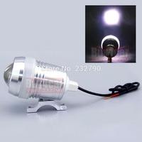 2 x30W Car Motorcycle U3 CREE LED Laser Driving Fog Spot Headlight White Angel Eyes Strobe Lamp #3975