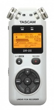 Tascam dr-05 digital recording pen professional voice recorder dr05 white (China (Mainland))