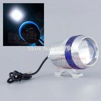 U3 CREE LED 30W Spot Headlight Fog Lamp Laser Car Motorcycle w/Blue Angel Eye Lens Strobe/Flash Light #3977
