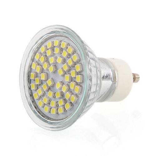 10pcs/pack BUY 8 GET 2 FREE 10 X GU10 48 SMD LED DAY WHITE 4W = 50Watt LIGHT BULBS LAMP Free Shipping(China (Mainland))