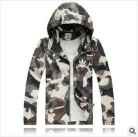 new arrival 2014 camouflage male hooded jacket man plus size xxxl hoody clothing men track suit military mens hoodie