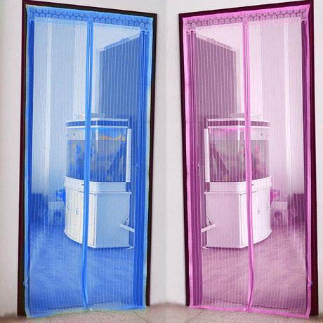 Frete grátis 7buckle tarja magnética fivela magnética magnética mosquito verão shalian mosquito tarja macio porta net cortina(China (Mainland))