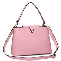 2014 famous brand designers Women handbag Genuine Leather Cross Body Shoulder bag litchi embossed big V shaped Messenger bags