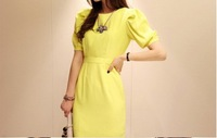 2014 fashionable lady Vintage dress!sexy Bodycon Dress, HOT SUMMER!free shipping
