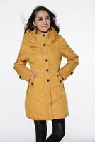 Plus Size Women Clothing L-6XL, 7XL, 8XL New Winter Long Sections Casual Slim Down Women Coat