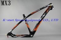 2014  Mendiz MX3 carbon fiber  Mountain bike frame/bicycle frame/mtb bike frame ,26ER OR 27.5ER OR  29ER ,Free shipping !