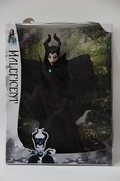 Free shipping 11.25 inch Anime Maleficent doll Classic Girls brinquedos Collection doll toy with out box 1 pcs