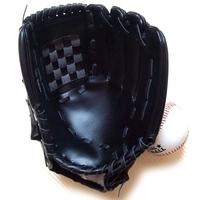 Adult / juvenile / child full amount of black baseball glove pitcher infield gloves gloves thicker type 10.5-inch send Baseball