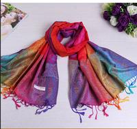 70*175cm Free Shipping 2014 New Fashion Cashews Style Women's Scarf winter Wrap Cotton printing shawl Pashmina tassels scarves