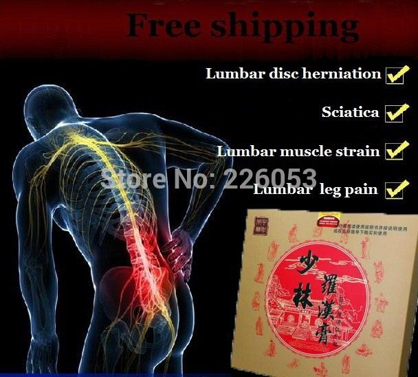 Chinese traditional herbal medicines Shaolin Rohan pain relief patch 30pcs Lumbar disc herniation Sciatica Lumbar muscle strain+(China (Mainland))