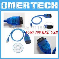 2014 VAG 409 KKL USB 409 USB KKL VAG VAG 409.1 Cable Scanner Scan Tool Interface For Audi VW Fast Free Shipping