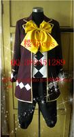 New Anime Black Butler Kuroshitsuji Noah's Ark Circus Cosplay Clown Joker Costume