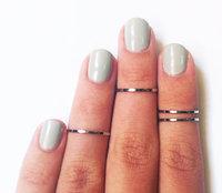 Fashion shinny finger Midi Knuckle Ring Women 4pcs one set  shipping wholesale