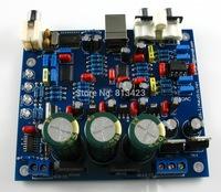 CS8416 + CS4398 DAC board with USB coaxial 24/192K DIY kit AC15V 32K-192K/24BIT