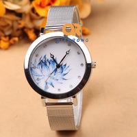 Men women unisex Sports stainless steel watch fashion Luxury Quartz Military watch Analog 2014 free shipping G-8019#