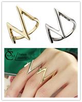 new arrive V shape finger ring for women ,Mix $10 Free shipping