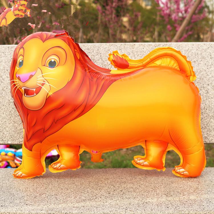 venda de alumínio leão animal flutuante ar esfera flutuante balão de ar brinquedos as crianças grossista. 1 pcs/lote(China (Mainland))