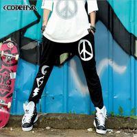 CQ-14 new 2014 Autumn 3 M reflective Hip hop pants harem pants women joggers drop crotch pants elastic waist dance pants baggy