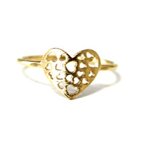 retail 2014 new high quality fashion couples engagement ring pink vintage love heart rings for women $10free shipping