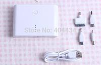 with 4connecotors 12000mah power bank dual usb output external battery cellphone charger 20pcs