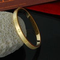 SZ26 free shipping new fashion women wedding bracelets bangles 18k gold bracelet jewelry wholesale price pulseiras pulseira ouro