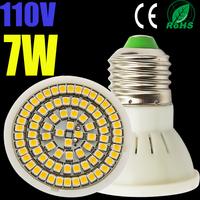 1pcs LED Bulb Lamp lights E27/E26 AC110V 120V  Warm white/cold white 4W 5W 6W 7W 5050SMD/3528SMD Free shipping