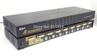 Hot Sale 8 PORT DVI KVM Switch without cable CKL-9138D