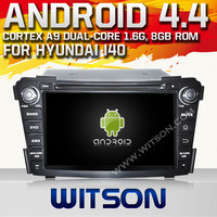 WITSON Android OS 4.2 Capacitive screen car dvd navigation for HYUNDAI I40(2011-2013) Built in 8GB Flash 1G DDR3 RAM Memory+Gift