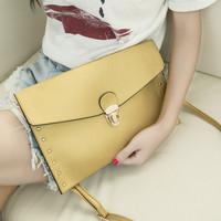 2014 envelope fashion women shoulder bag messenger bag