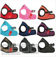 HOT SALE#  Soft Adjustable Pet Puppy Dog Mesh Vest Harness Casual Canine All Colors  and Sizes