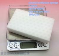 TOP FAITH ,100pc/lot,14KG/CBM,Mr. Clean  Magic Eraser Sponge Cleaner melamine sponge can be folded, double pressed, best quality