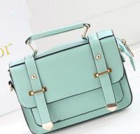 2014 summer candy color fashion cross-body shoulder women's handbag small bag