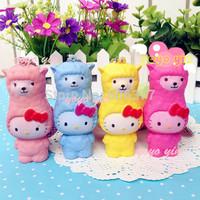 New 8CM Hello Kitty Alpaca Squshy Charm/Key Chain / Slow To Rise 6 Colors