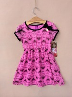 New arrival Free shipping 6 pcs/lot 6-16T big girls ever after high Chiffon Dress