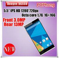 5.5'' Octa Core MTK6592 Smart Phone Android 13MP 1GB/16GB GPS Doogee DG550