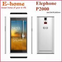 "In Stock  Elephone P2000 MTK6592 Octa Core 5.5"" 1280x720 2GB RAM 16GB ROM 13MP WCDMA Mobile Phone Fingerprint identify NFC GPS"