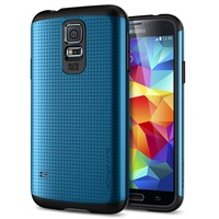 Slim Armor SGP robot Case for galaxy s5, PC+TPU Hybird SPIGEN Hard case for samsung galaxy S5 i9600 500 pcs/lot Wholesale