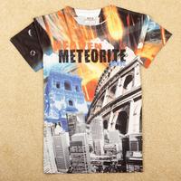 NOVA Kids boys fashion 3D printing short sleeve T-shirt C5179Y#