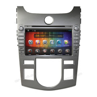 8 inch touch screen car dvd with gps android car dvd player for Kia (AT) Cerato/Forte 2008-2012 with bluetooth+built-in GPS