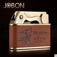 ZB-612E Jobon lighter LIGHTER flame lighter metal lighter wholesale wholesale wheel