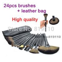 24 pcs set of Makeup Brush tools Cosmetics Brush Kits Professional 24pcs Brand Make Up Brush Sets 24 pcs makeup brushes & tools