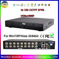 16ch CCTV DVR,Real time Recording playback,with HDMI,1080P Output,CCTV DVR Recorder,Spport Android/ Internet/Phone view