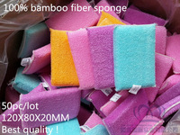 TOP FAITH!50pc/lot high efficient ANTI-GREASY dish cloth,bamboo fiber washing dish foam,multi-function wipping/cleaning rag