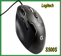 Genuine Logitech G500s Laser Gaming Mouse with Adjustable Weight Tuning Genuine G500S FPS gaming mice 8200DPI Free HKPOST