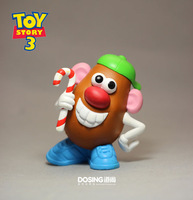 Free Shipping Brand New Pixar Cartoon Action Figure Toys Mr. Potato Head 9CM PVC Toy Story Action Figure Toy For Kids/Gift